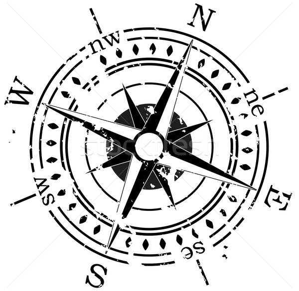 vector compass  Stock photo © freesoulproduction