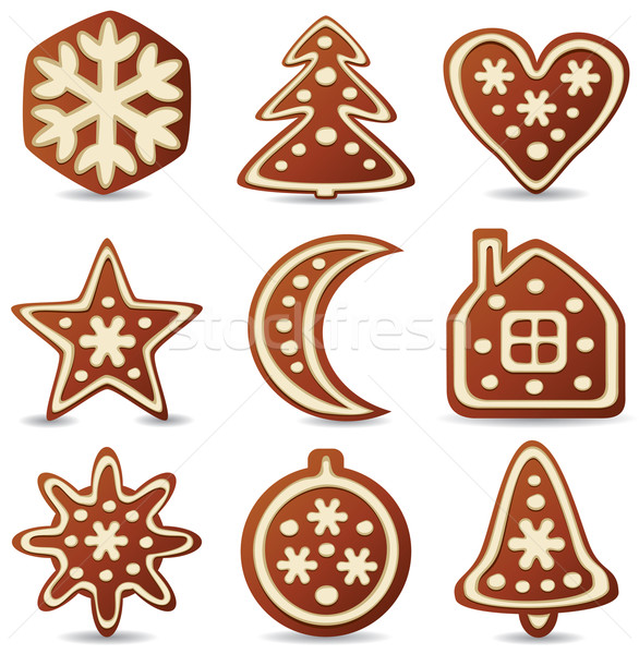 gingerbread cookies Stock photo © freesoulproduction