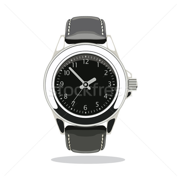 vector wristwatch icon Stock photo © freesoulproduction