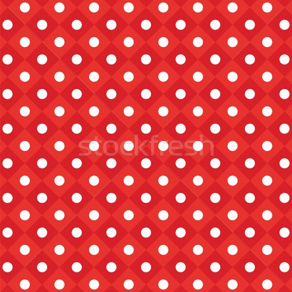 ベクトル パターン 赤 紙 ストックフォト © freesoulproduction