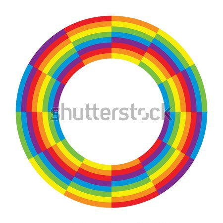vector abstract background design of round wheel circle  Stock photo © freesoulproduction