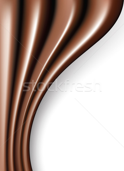 vector chocolate folds  Stock photo © freesoulproduction