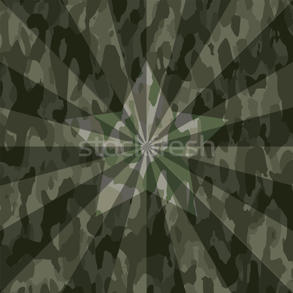 vector summer camouflage background pattern  Stock photo © freesoulproduction