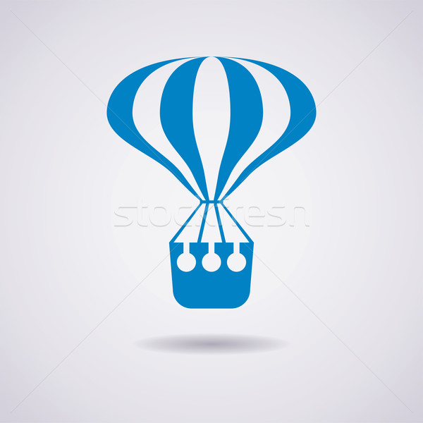 vector hot air balloon icon Stock photo © freesoulproduction