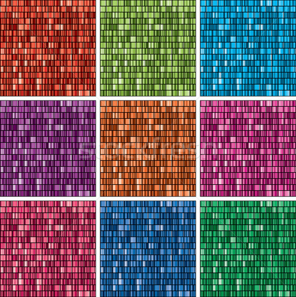 Vettore set unico gradiente sfondi Foto d'archivio © freesoulproduction