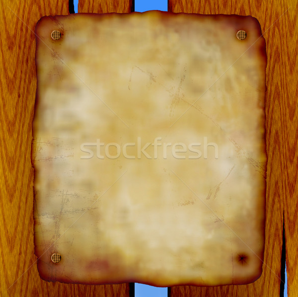 old scroll Stock photo © freesoulproduction