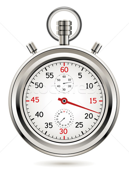vector stopwatch  Stock photo © freesoulproduction