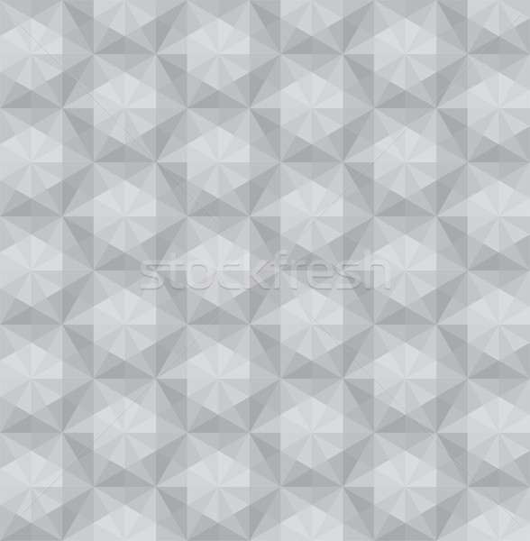 vector triangular  mosaic seamless pattern Stock photo © freesoulproduction