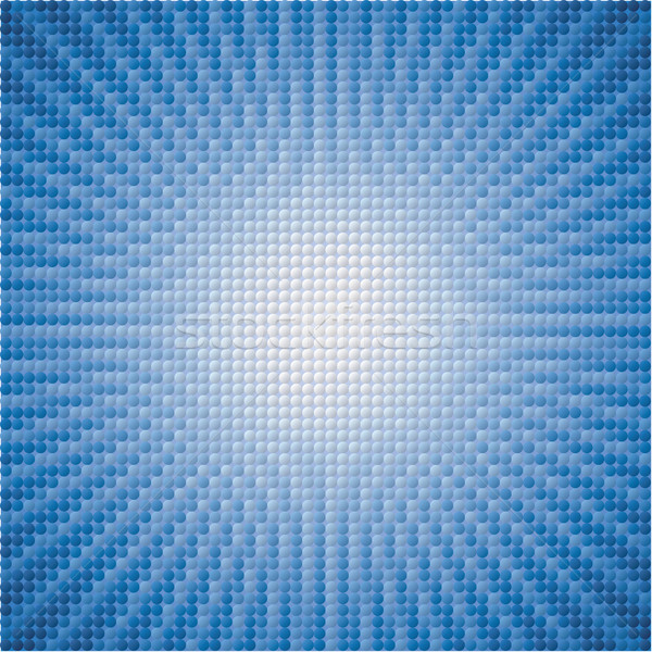 vector abstract background of blue star burst tiles Stock photo © freesoulproduction
