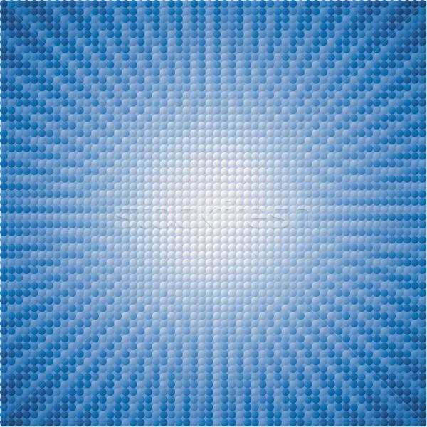 Vektor abstrakten blau Sterne Burst Fliesen Stock foto © freesoulproduction