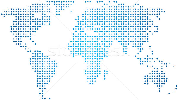 abstract world map Stock photo © freesoulproduction