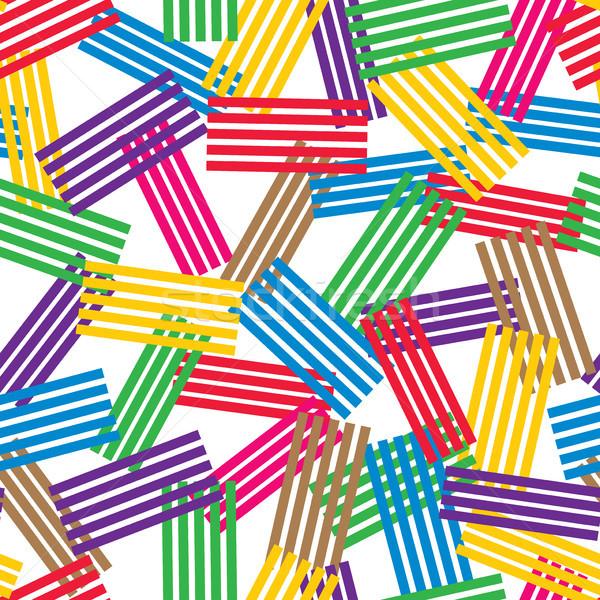 Photo stock: Vecteur · texture · résumé · coloré