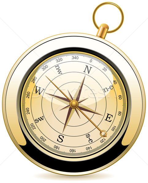 vector vintage compass Stock photo © freesoulproduction