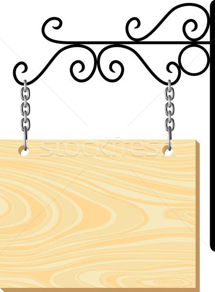 вектора металл украшение дизайна знак Сток-фото © freesoulproduction