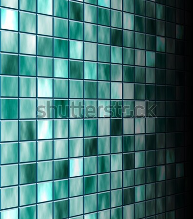 green blocks Stock photo © freesoulproduction