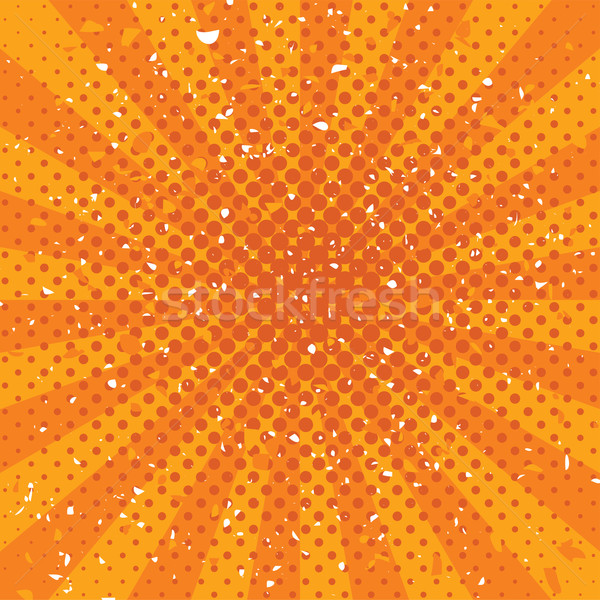 Foto stock: Vetor · laranja · grunge · textura · abstrato · projeto