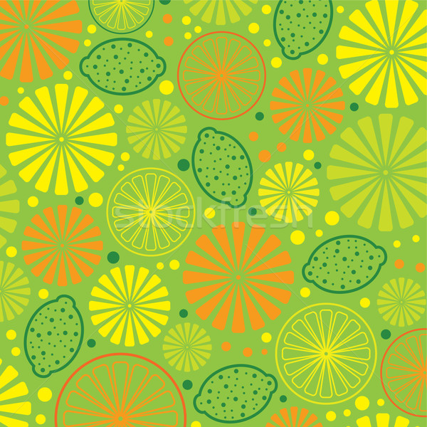 vector citrus background Stock photo © freesoulproduction