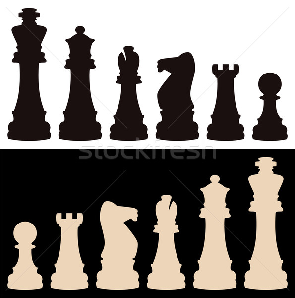 vector chess pieces Stock photo © freesoulproduction