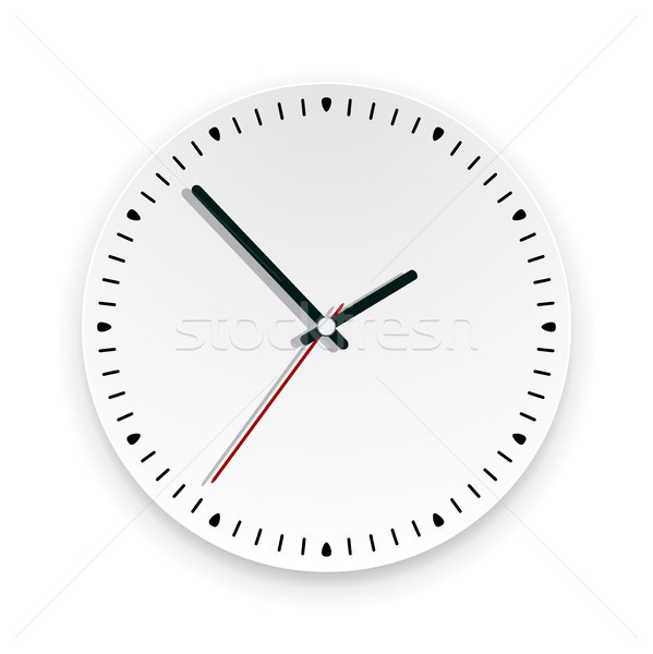 vector  wall clock face Stock photo © freesoulproduction