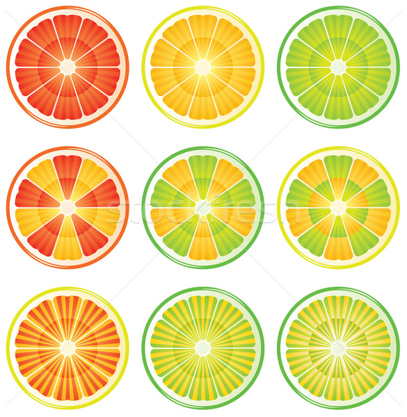 citrus slices  Stock photo © freesoulproduction