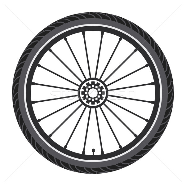 vector bicycle wheel  Stock photo © freesoulproduction