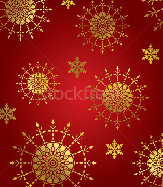 аннотация зима орнамент фон знак Сток-фото © freesoulproduction