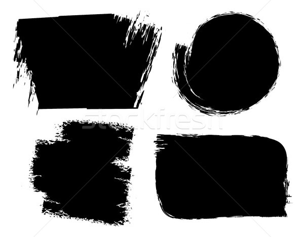 vector brush strokes grunge backgrounds Stock photo © freesoulproduction
