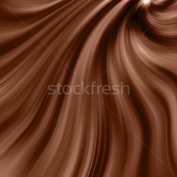 Cioccolato fondente turbinio alimentare design cioccolato candy Foto d'archivio © freesoulproduction