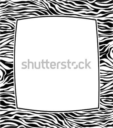 Marco resumen piel textura vector espacio de la copia Foto stock © freesoulproduction