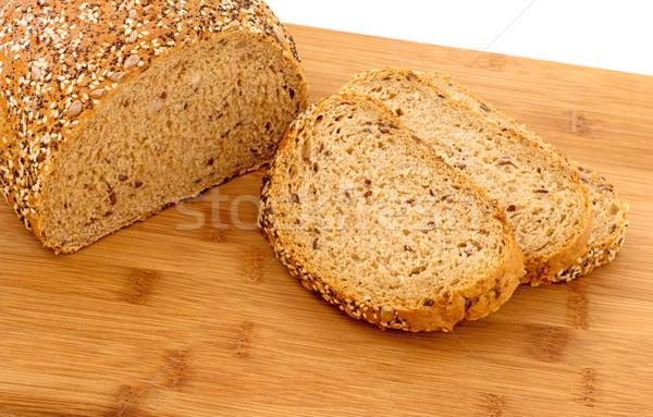 Wholemeal bread  Stock photo © Freila