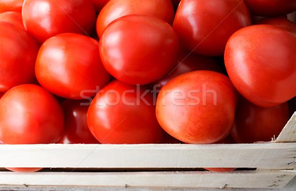 Tomates tiro fresco Foto stock © Freila