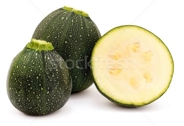 Całość biały zielone świeże składnik Zdjęcia stock © Freila