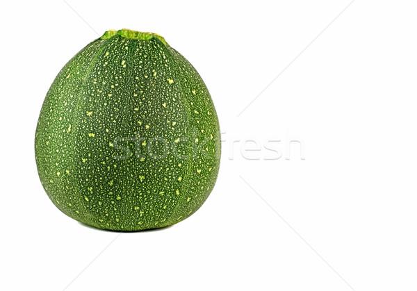 Jeden odizolowany biały zielone świeże składnik Zdjęcia stock © Freila