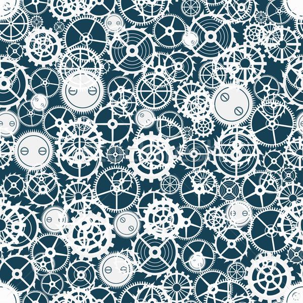 cogwheel pattern. Stock photo © frescomovie