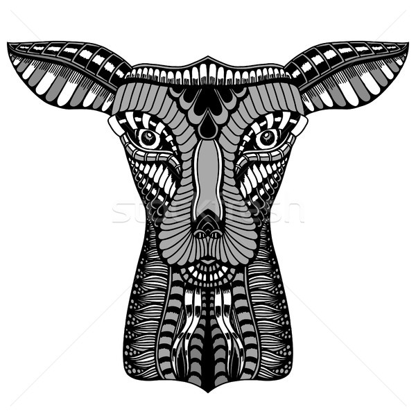 baby deer head Stock photo © frescomovie