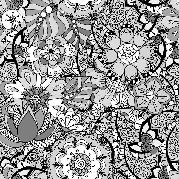 Ornament Pattern Stock photo © frescomovie