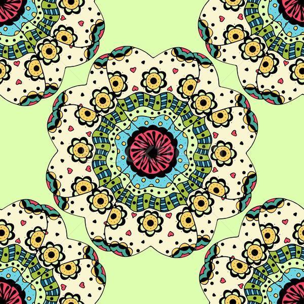 Bağbozumu dekoratif elemanları İslamiyet Stok fotoğraf © frescomovie