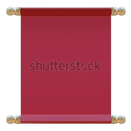 red cloth Stock photo © frescomovie