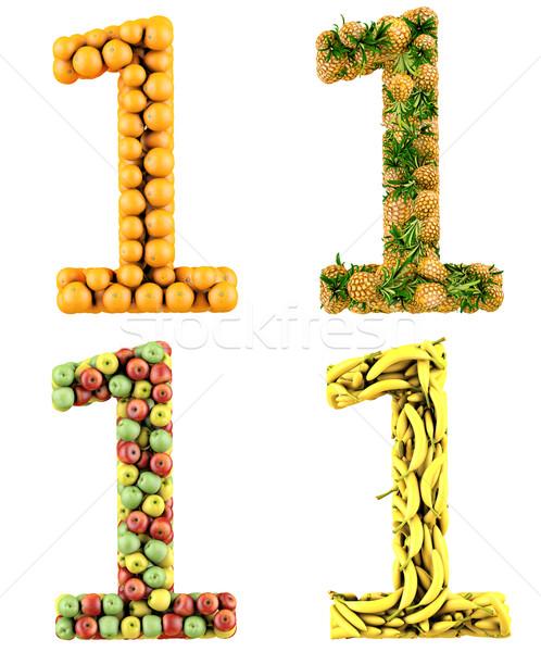3d Number Stock photo © frescomovie