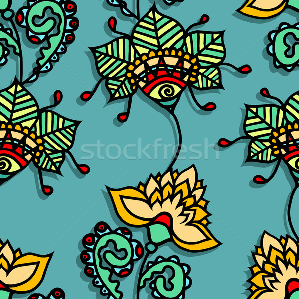 Floral Pattern Stock photo © frescomovie