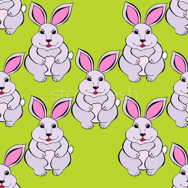 Rabbit sketch Stock photo © frescomovie