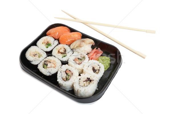 Sushi plate Stock photo © frescomovie