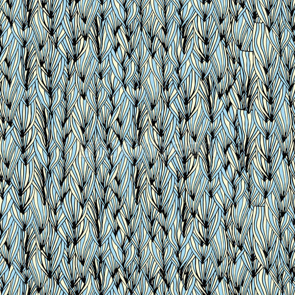 Ondas grama sem costura abstrato padrão Foto stock © frescomovie