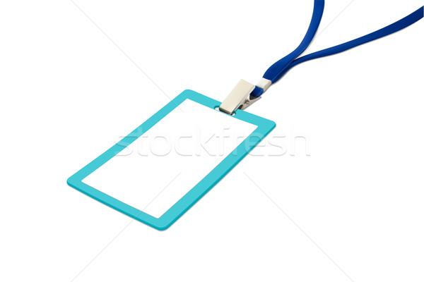 blue neckband Stock photo © frescomovie