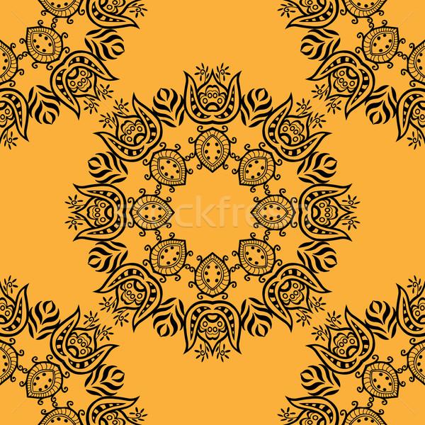 Projeto holandês telha textura moda Foto stock © frescomovie