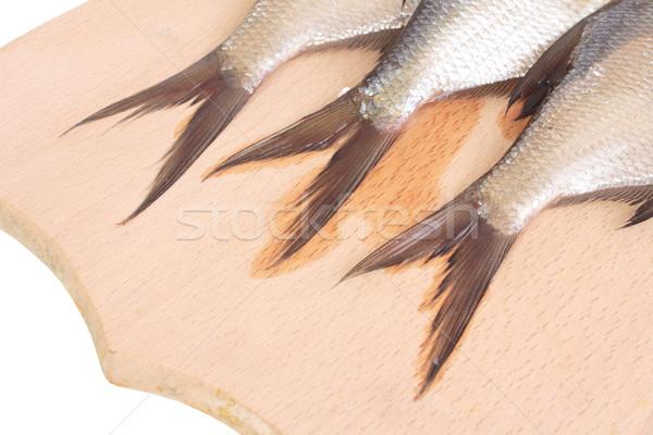 Vis geïsoleerd witte industrie meer Stockfoto © frescomovie