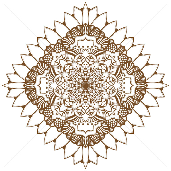 Abstract floral ornament Stock photo © frescomovie