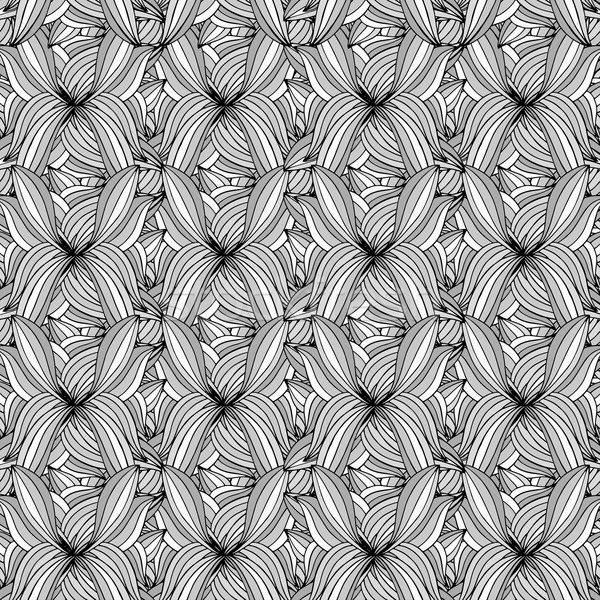 Abstract Black and White Pattern. Stock photo © frescomovie