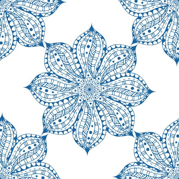 Niebieski wschodniej wektora odizolowany Zdjęcia stock © frescomovie