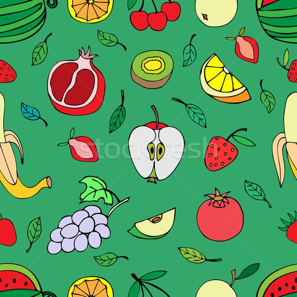 sweet fruits Stock photo © frescomovie